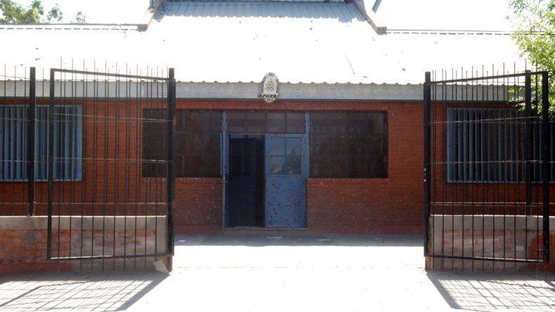 Comisaría 16 de San Lorenzo.