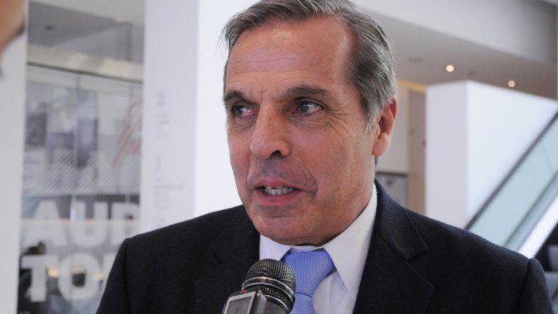 El ahora ex gobernador de Neuquén realiza gestiones para la provincia.