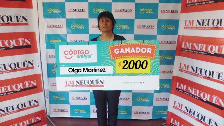 Olga Martínez.