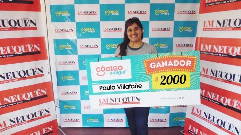 Paula Villafañe.