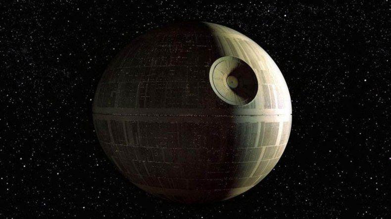 La estación Estrella de la Muerte tiene su correlato en un satélite real