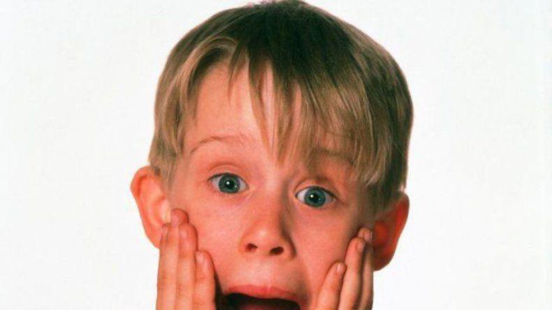 Tiempo atrás. Culkin de niño y una expresión que quedó en la historia de Hollywood. A los doce años llegó a ganar u$s 55 millones.