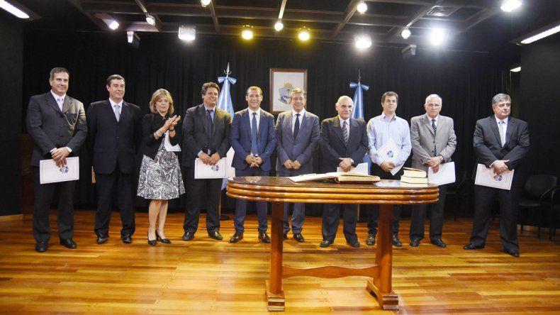 El gabinete provincial que eligió Gutierrez