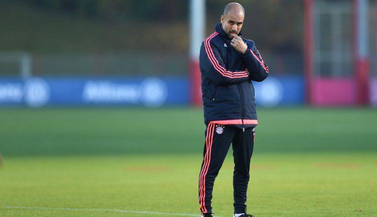 Guardiola dejará el Bayern Múnich en julio