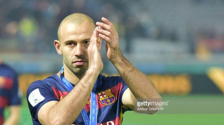 Masche dejó en claro que su prioridad es el Barcelona.