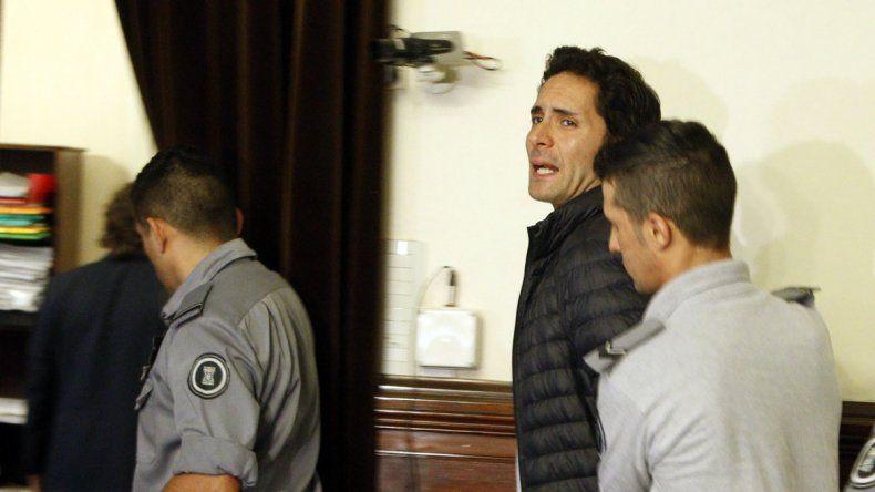 Luciano Sosto fue condenado hoy a la pena de prisión perpetua.