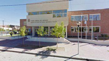 La audiencia se realizó en la sede judicial de la comarca petrolera.