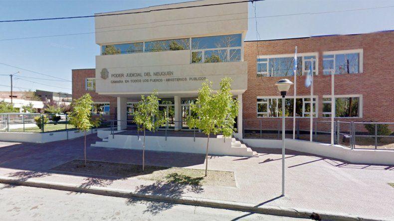 La sede de la fiscalía de Cutral Co