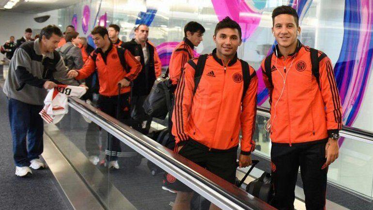 River volvió al país tras perder la final frente al Barcelona