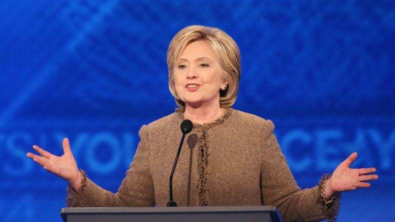 Hillary Clinton tomó la decisión de no pedir disculpas al republicano.