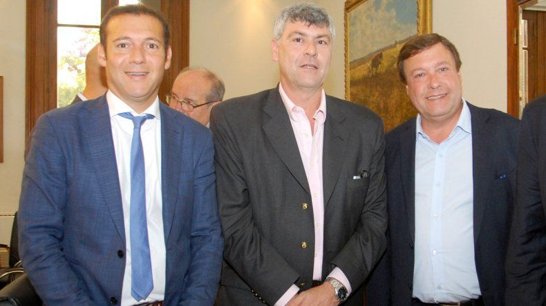 Gutiérrez y Weretilneck se reunieron con funcionarios nacionales.