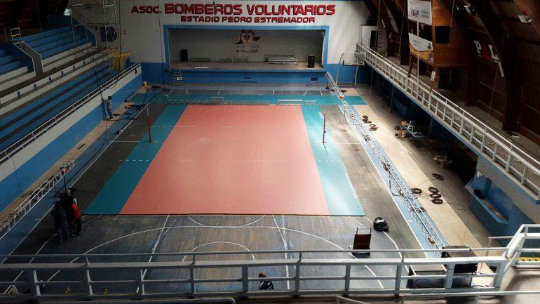 El gimnasio Pedro Estremador