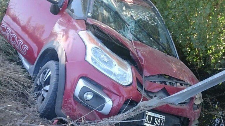 Uno de los accidentes se produjo en Río Colorado y Trenque Lauquen.