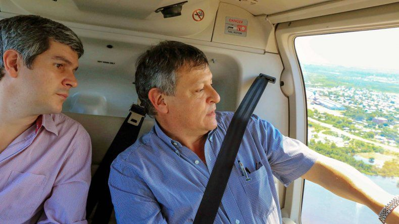 Peña también estuvo en Chaco junto al gobernador Peppo.