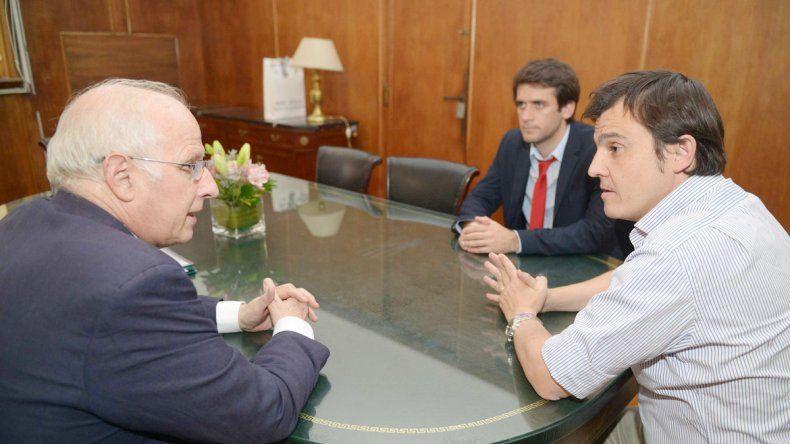 El ministro Brillo se reunió con funcionarios nacionales.