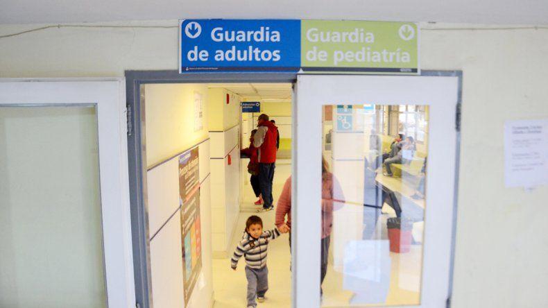 El herido fue estabilizado en la guardia del hospital Castro Rendón.