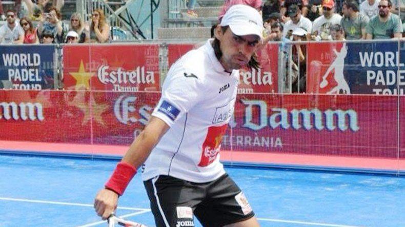 Juan Mieres estará junto a Miguel Lamperti en MYC Pádel.