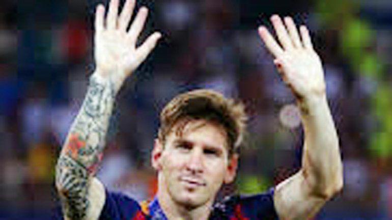 La Pulga ganó cinco títulos sobre seis posibles con Barcelona.