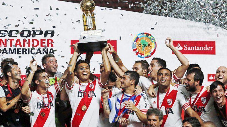 En el comienzo del año se llevó la Recopa Sudamericana ante el Ciclón.