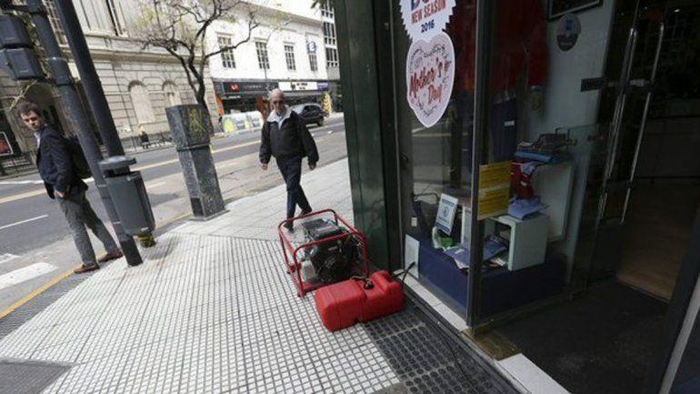Más de 52.000 usuarios con cortes de luz en Buenos Aires