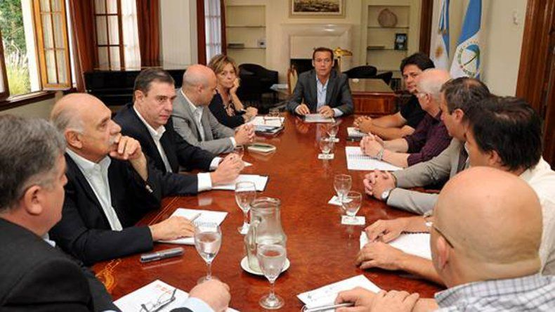 Gutiérrez se reunió con su gabinete para evaluar acciones futuras