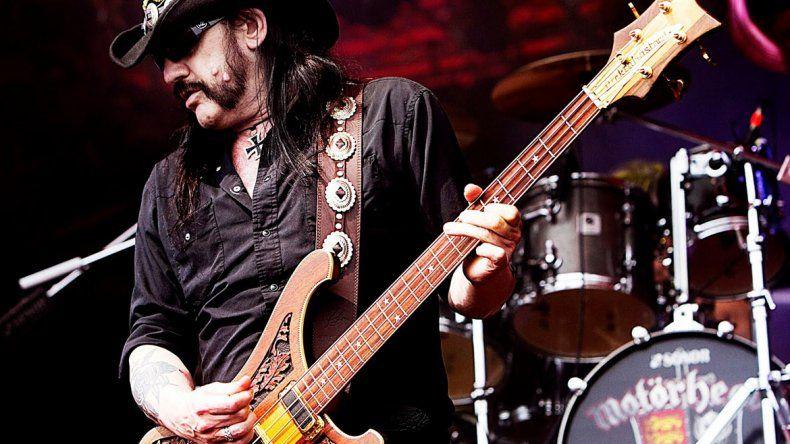 A los 70 años murió Lemmy Kilmister