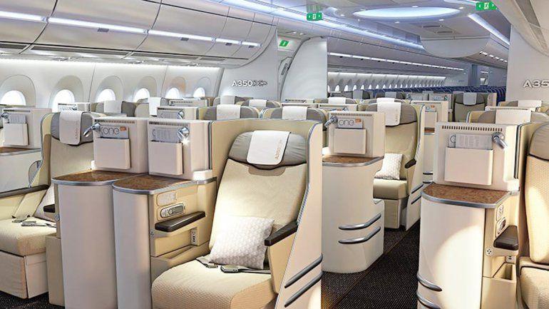 Un Airbus A350 que