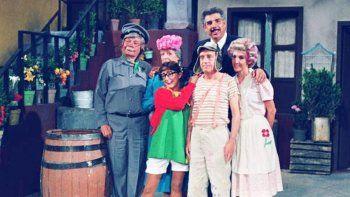 En tiempos felices, en la vecindad del Chavo, donde se grabó un programa inmortal.