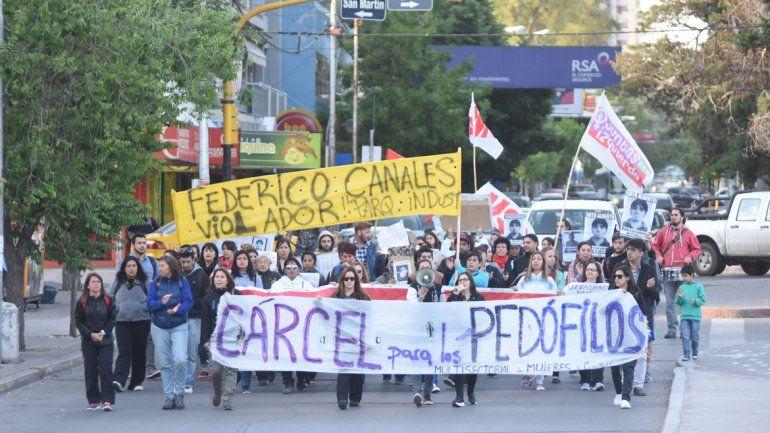 Los casos reiterados de pedofilia originaron marchas en la ciudad.