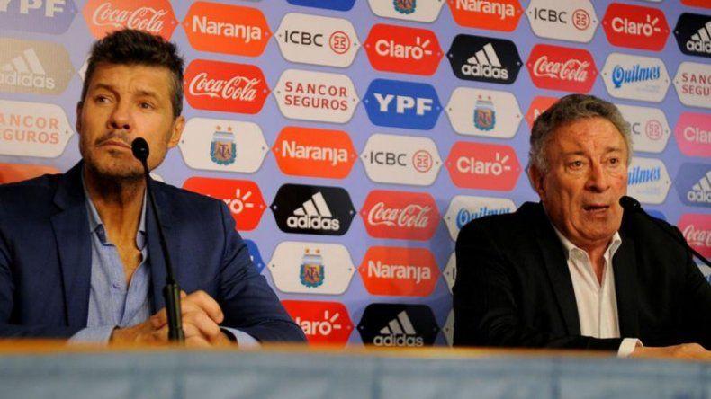 Marcelo Tinelli y Luis Segura irán nuevamente por el sillón presidencial de AFA el 29 de junio.