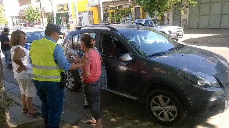 El robo ocurrió en calle Belgrano casi Catriel.