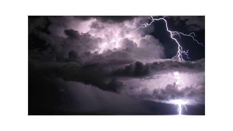 Las tormentas continuarán hasta el viernes en todo el Alto Valle