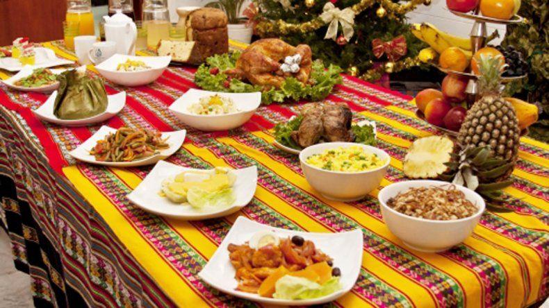 Cena de fin de año.