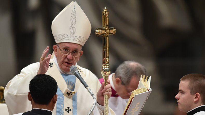 Francisco pidió a los refugiados no perder la esperanza