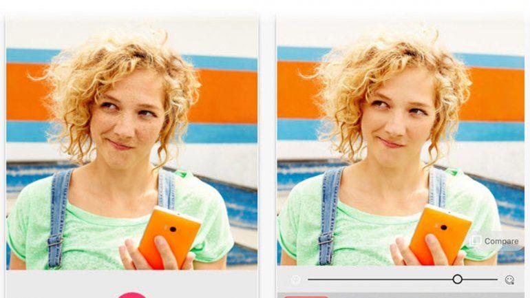 También permite hacer cambios manuales a nuestras fotos.