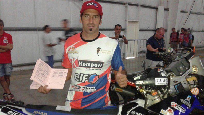 López Jové es una de las esperanzas argentinas en motos.