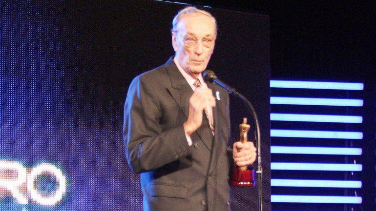 Carrizo ganó un Martín Fierro por su trayectoria