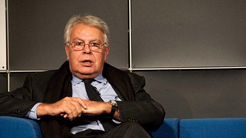 El ex jefe del Gobierno español auguró la caída del régimen.