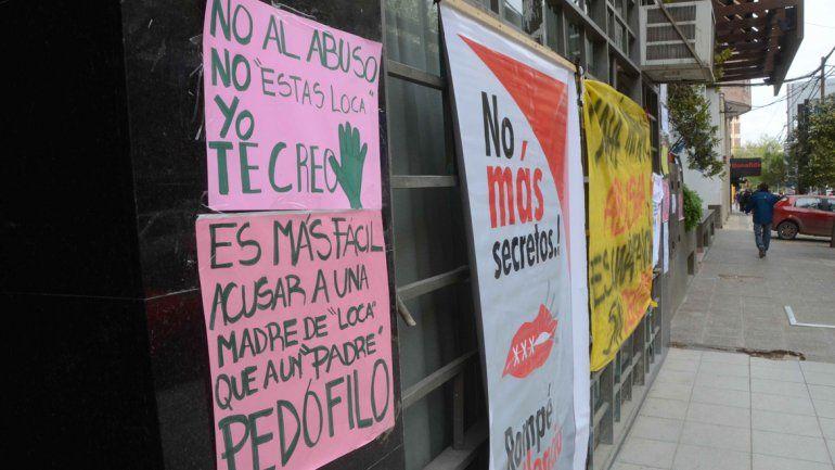 Distintas agrupaciones se volverán a manifestar mañana en calle Yrigoyen.