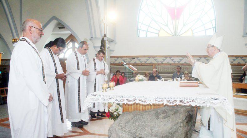 La apertura de la Puerta de la Misericordia en Junín de los Andes