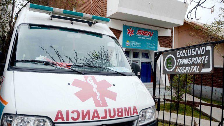El SIEN llegó a atender un accidente porque un enfermero pasaba por el lugar y se pudo comunicar por radio.