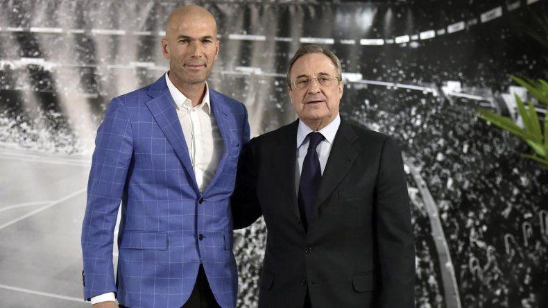 Sorpresa en el Real Madrid: renunció Zinedine Zidane