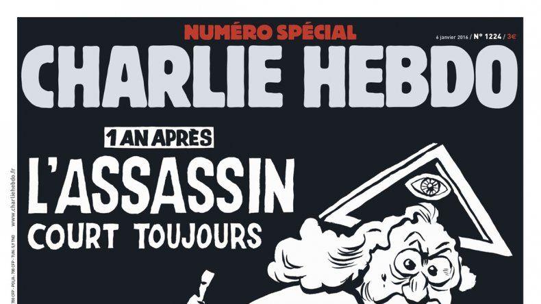 La portada de la última edición del semanario satírico francés.