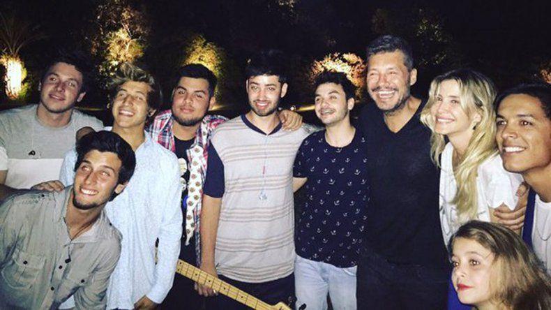Márama es una de las bandas del momento. Tocó en la exclusiva fiesta de Año Nuevo que Marcelo Tinelli organizó en Punta del Este.