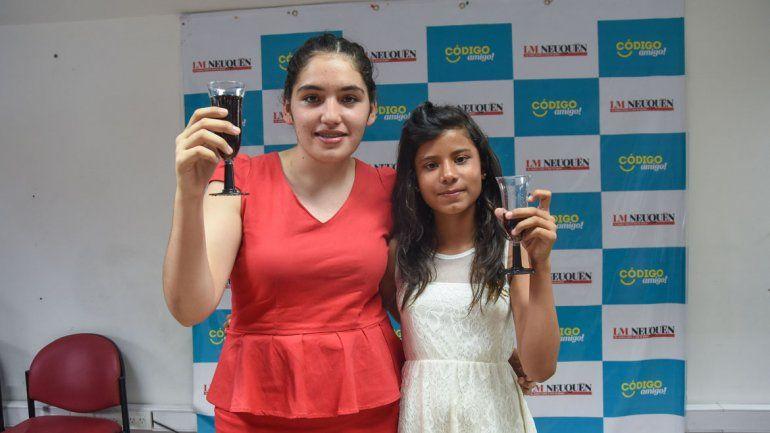 Julieta Campos y Sofía Paredes.