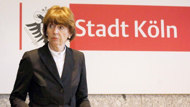 La alcaldesa de Colonia
