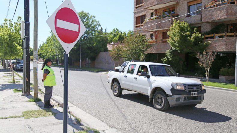 Durante esta semana los agentes de tránsito del Municipio informarán el nuevo sentido de las calles