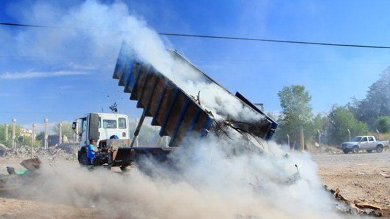 En seis meses ya quemaron 12 veces los contenedores.