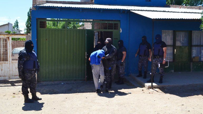 Cascote Chandía fue detenido el lunes después de 100 días prófugo.