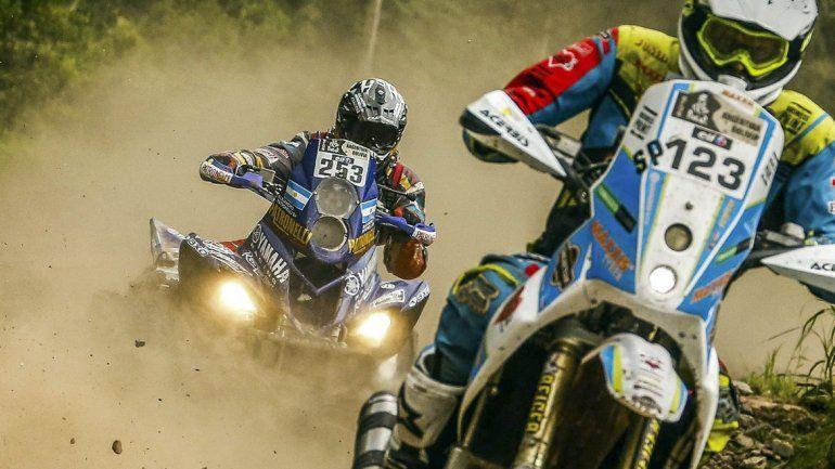 Marcos Patronelli ganó en cuatris y Benavides se mantiene en las motos